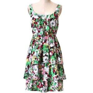 Anthropologie Moulinette Soeurs Floral Dress SZ 4